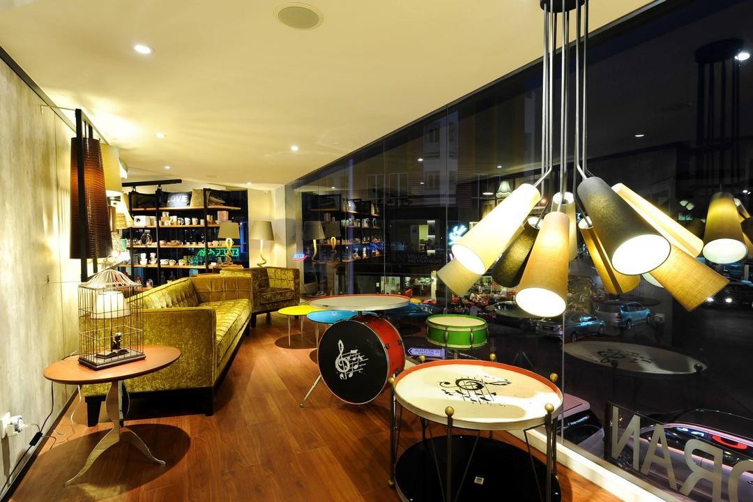 Showroom, M innovative Builders, Commercial, Lighting, Cafe, Restaurant, Bathroom, Indoors, Interior Design, Room
