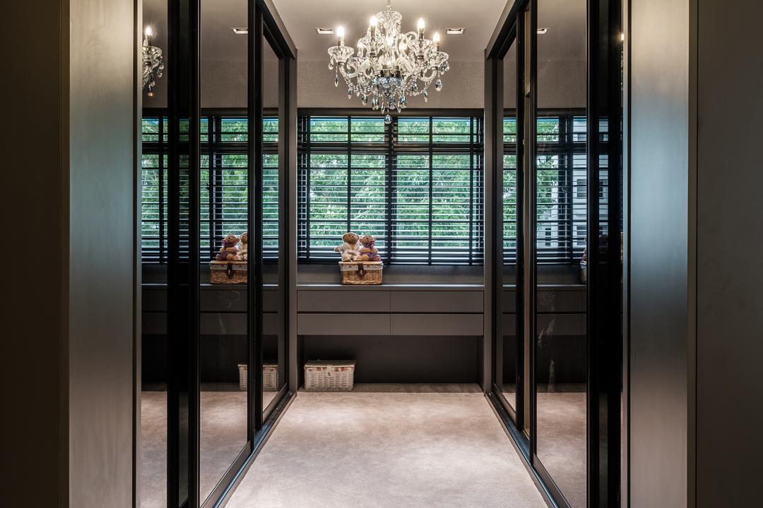 Sengkang East Way (Block 122B), DB Studio, Modern, Contemporary, Bedroom, HDB, Door, Revolving Door