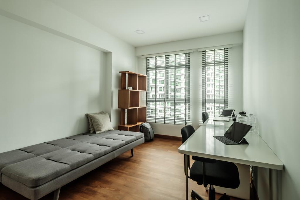 Minimalistic, HDB, Study, Waterway Cascadia (Block 316B), Interior Designer, DB Studio, Dining Table, Furniture, Table, Indoors, Room, Chair