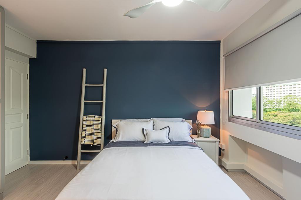 Minimalistic, HDB, Bedroom, Choa Chu Kang (Block 515), Interior Designer, DB Studio, Indoors, Interior Design, Shelf, Room