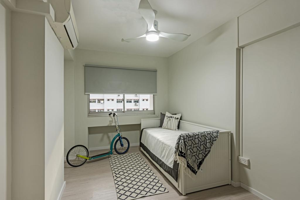Minimalistic, HDB, Study, Choa Chu Kang (Block 515), Interior Designer, DB Studio, Bicycle, Bike, Transportation, Vehicle
