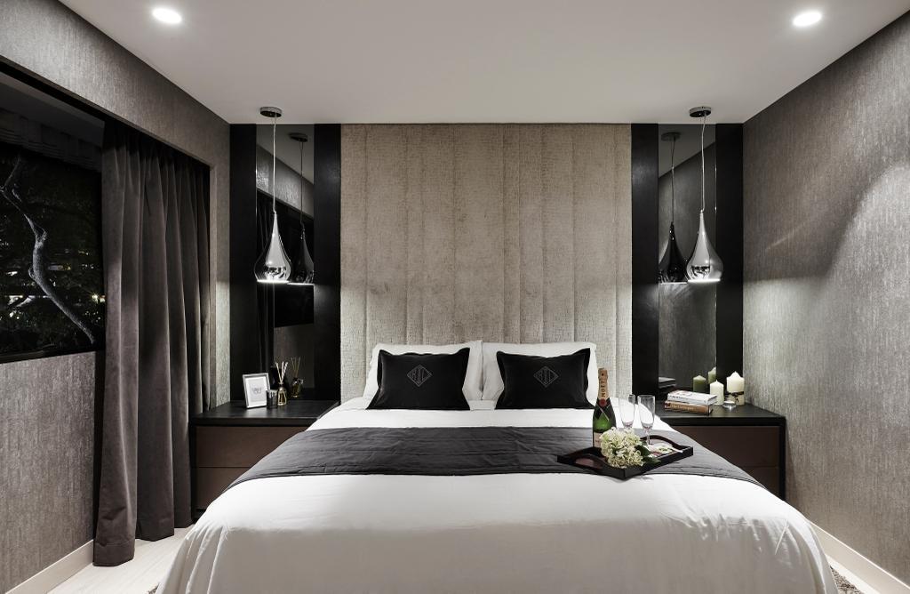 Modern, Landed, Bedroom, Hillcrest Arcadia, Interior Designer, akiHAUS, Indoors, Room, Interior Design