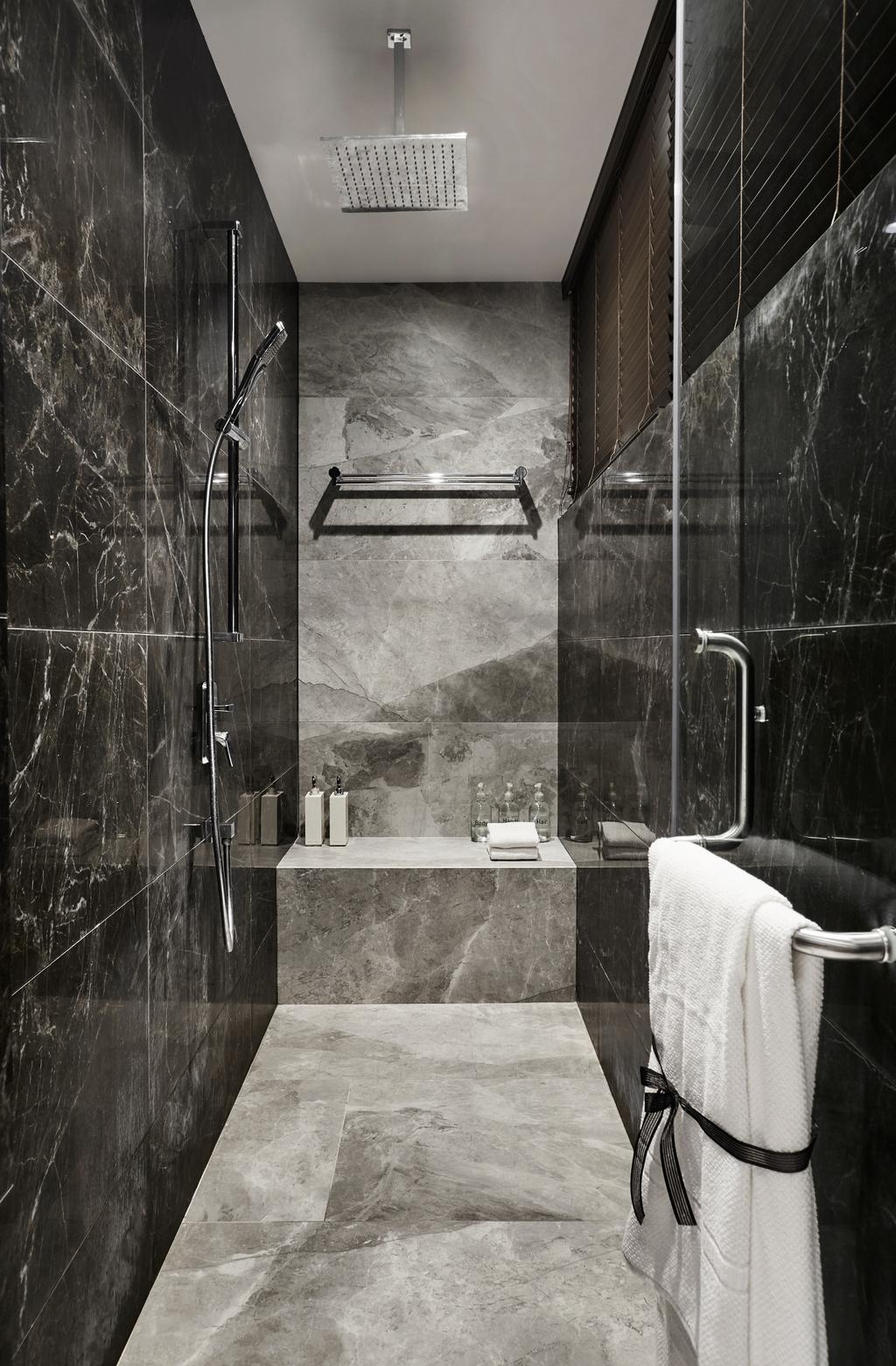 Modern, Landed, Bathroom, Hillcrest Arcadia, Interior Designer, akiHAUS
