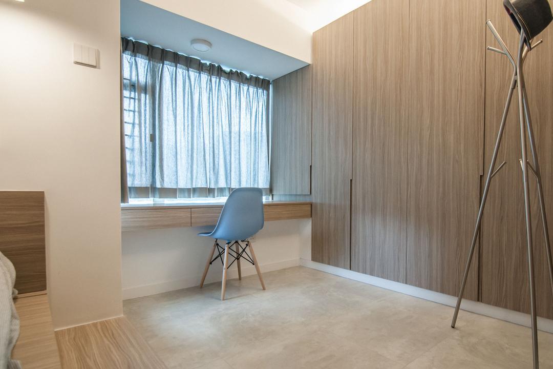 慧安園, Zinc Studio, 簡約, 摩登, 書房, 私家樓, Tripod, Chair, Furniture, Flooring