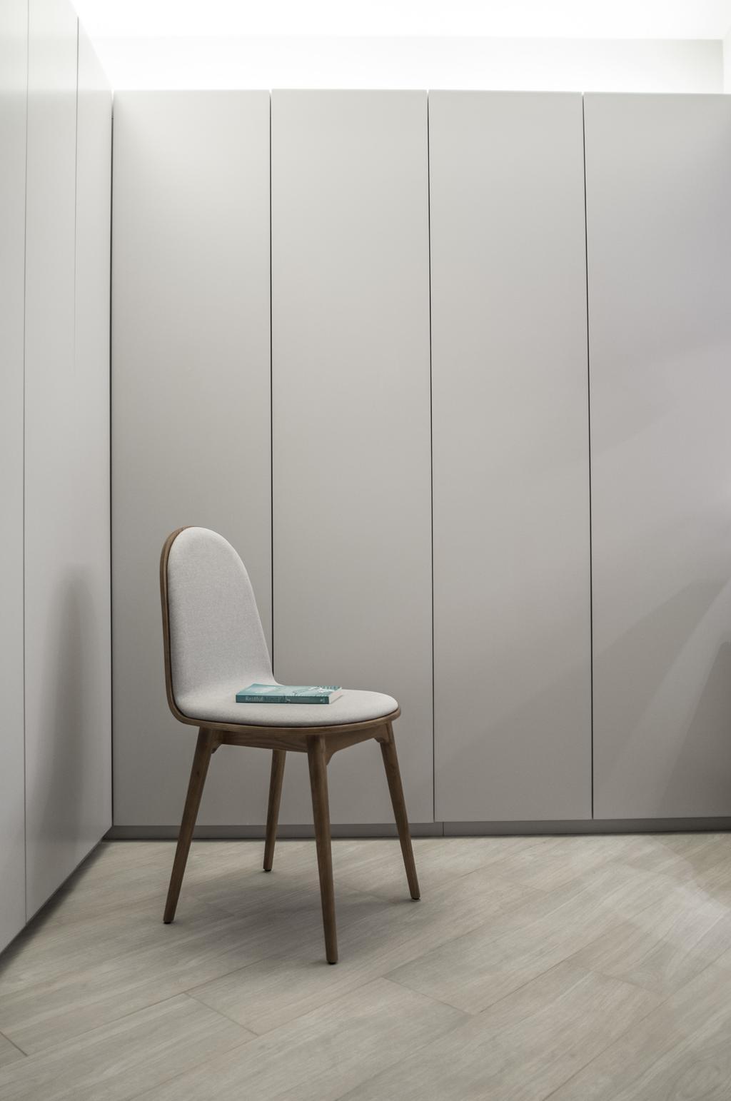 摩登, 私家樓, 海逸豪園, 室內設計師, Zinc Studio, Chair, Furniture