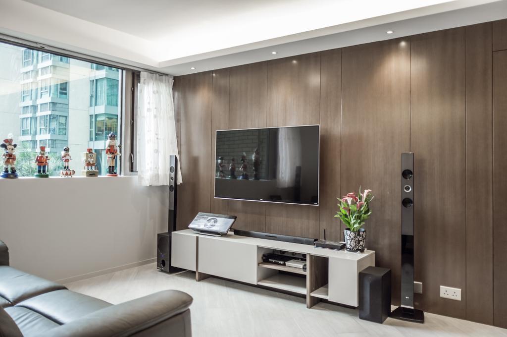 摩登, 私家樓, 客廳, 海逸豪園, 室內設計師, Zinc Studio, Indoors, Interior Design