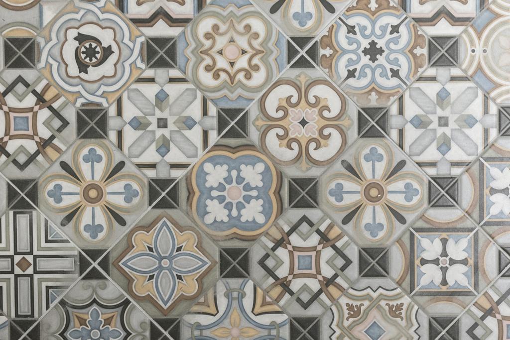 當代, 私家樓, 怡峰園, 室內設計師, Zinc Studio, 北歐, Ornament, Tile, Art, Mosaic