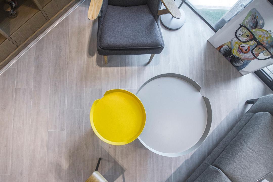駿景園 Living Room Interior Design 5