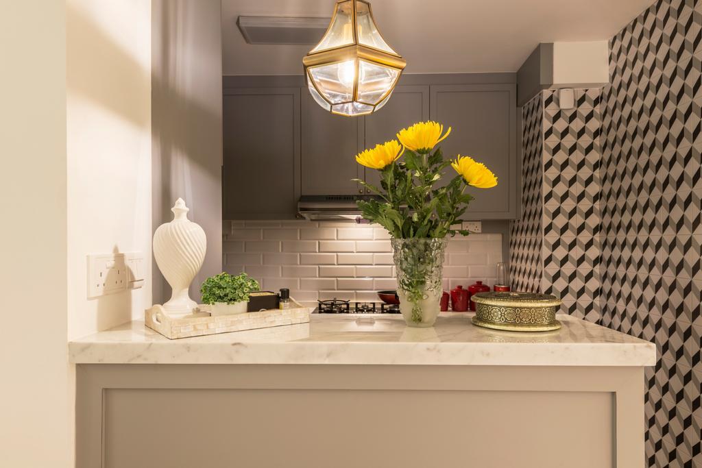 Contemporary, HDB, Kitchen, Compassvale Crescent (Block 286B), Interior Designer, Fifth Avenue Interior, Modern, Molding, Dining Room, Indoors, Interior Design, Room