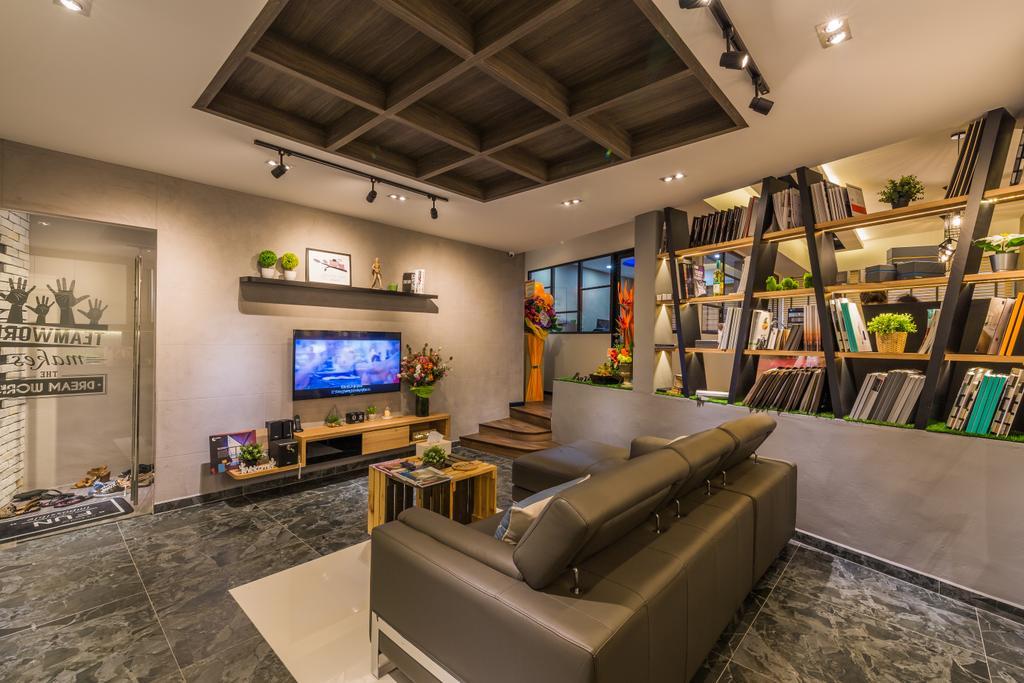Flo Design Showroom, Commercial, Interior Designer, Flo Design, Modern, Scandinavian, Living Room, Couch, Furniture