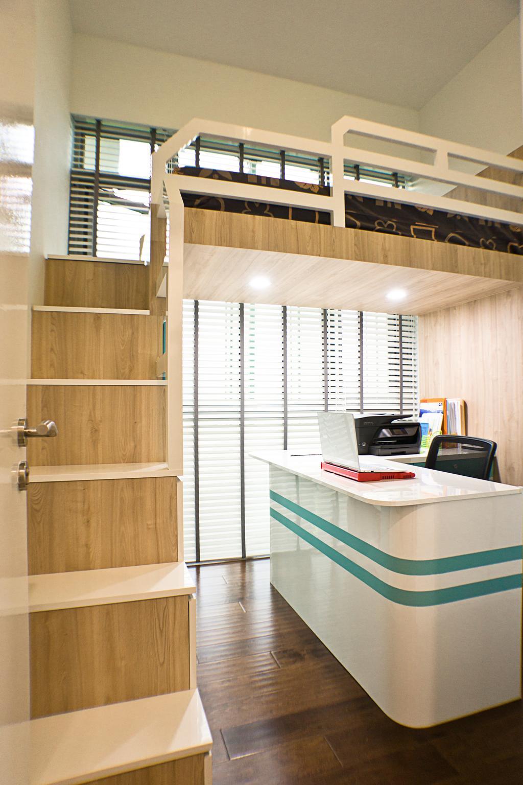 Modern, Condo, Bedroom, Hillview Peak, Interior Designer, Flo Design