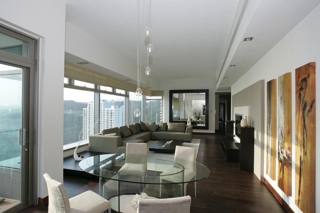 當代, 私家樓, 客廳, 淺水灣道, 室內設計師, Space Design, 摩登, Chair, Furniture, 飯廳, Indoors, Interior Design, Room