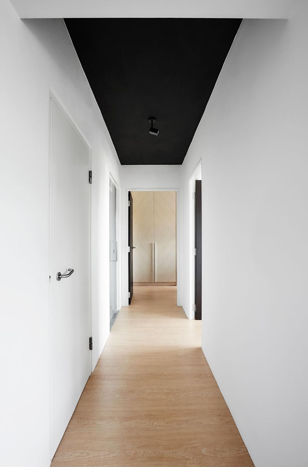 Scandinavian, HDB, Living Room, Circuit Road (Block 18D), Interior Designer, Icon Interior Design, Corridor