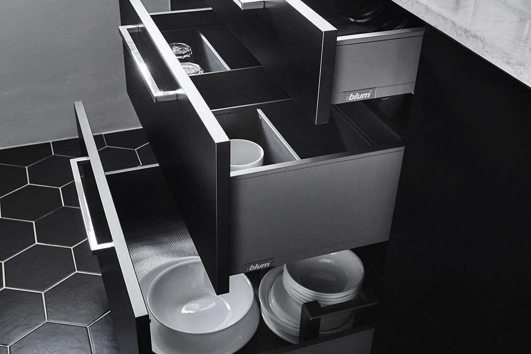 Circuit Road (Block 18D), Icon Interior Design, Scandinavian, Kitchen, HDB, Chair, Furniture, Electronics, Loudspeaker, Speaker
