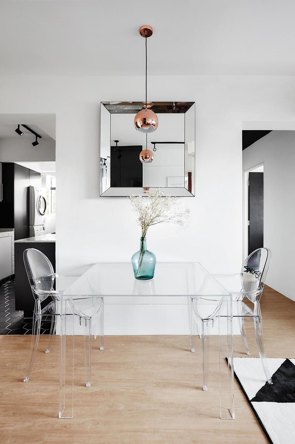 Scandinavian, HDB, Dining Room, Circuit Road (Block 18D), Interior Designer, Icon Interior Design, Indoors, Interior Design, Room