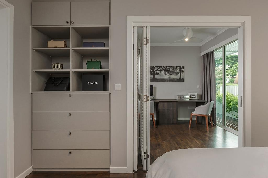 Contemporary, Condo, Bedroom, One Canberra, Interior Designer, Icon Interior Design, Indoors, Interior Design, Room, Door, Folding Door