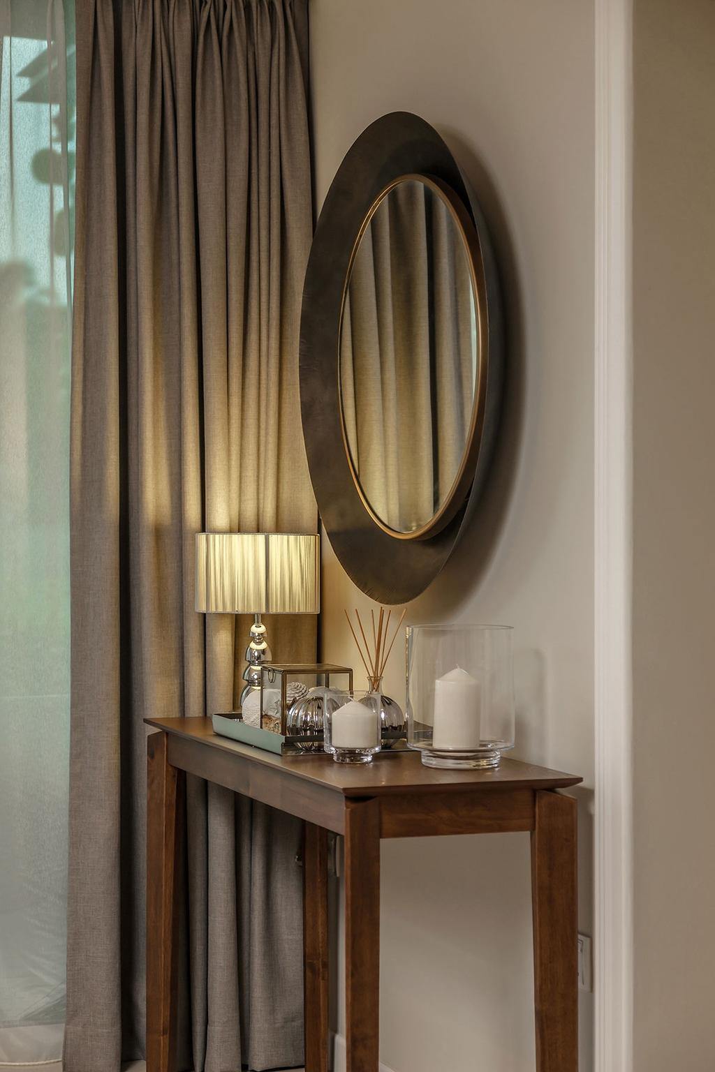 Contemporary, Condo, Living Room, One Canberra, Interior Designer, Icon Interior Design, Glass