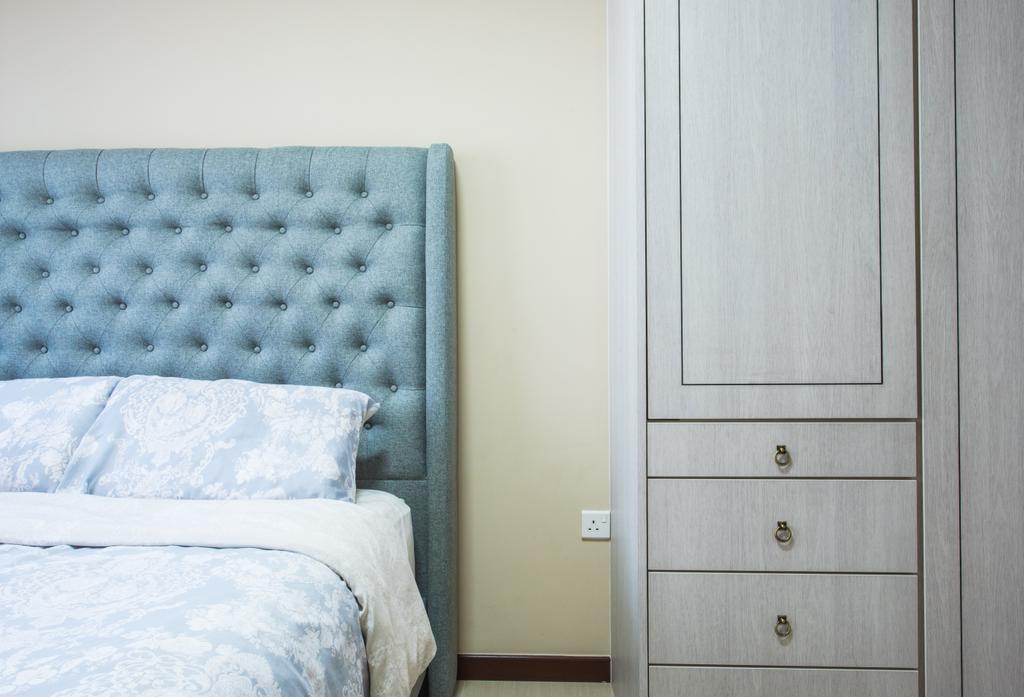 Contemporary, HDB, Bedroom, Yishun Avenue 4, Interior Designer, Glamour Concept, Indoors, Interior Design, Room