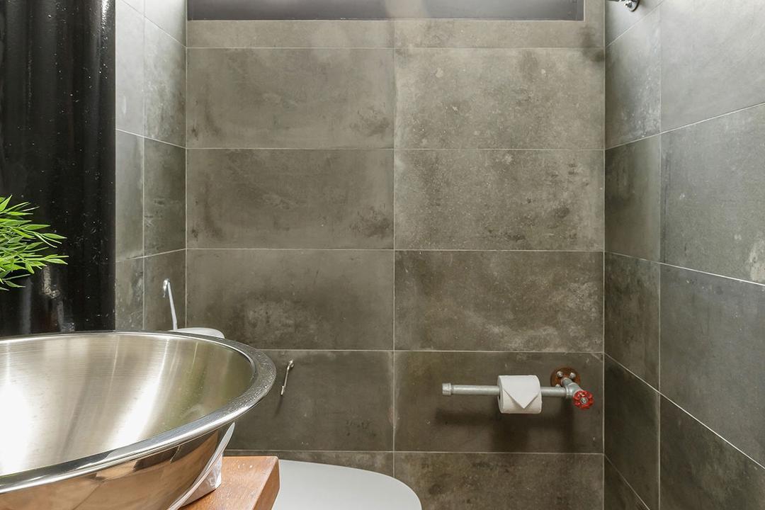 Kim Keat Link (Block 246), Icon Interior Design, Industrial, HDB, Flora, Jar, Plant, Potted Plant, Pottery, Vase, Paper, Paper Towel, Tissue, Toilet Paper, Towel