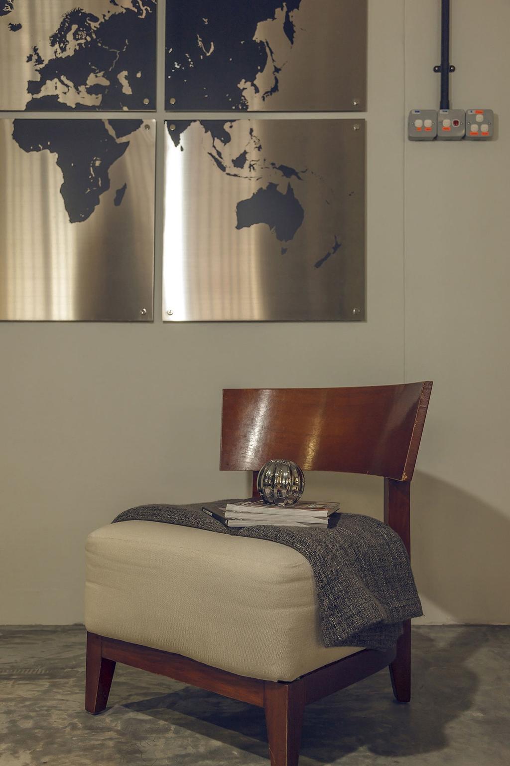 Industrial, HDB, Kim Keat Link (Block 246), Interior Designer, Icon Interior Design, Chair, Furniture