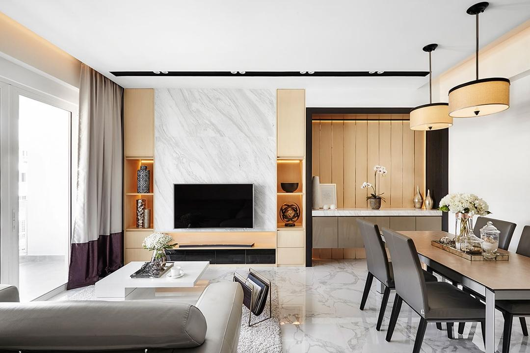 The Nautical Living Room Interior Design 13