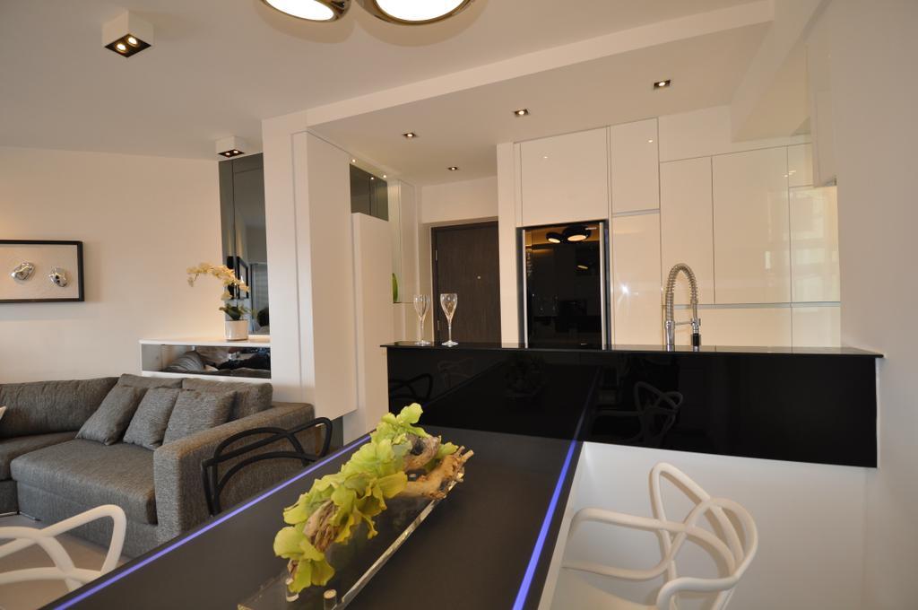 摩登, 私家樓, 客廳, 光明台, 室內設計師, Space Design, Indoors, Interior Design, Chair, Furniture, Couch