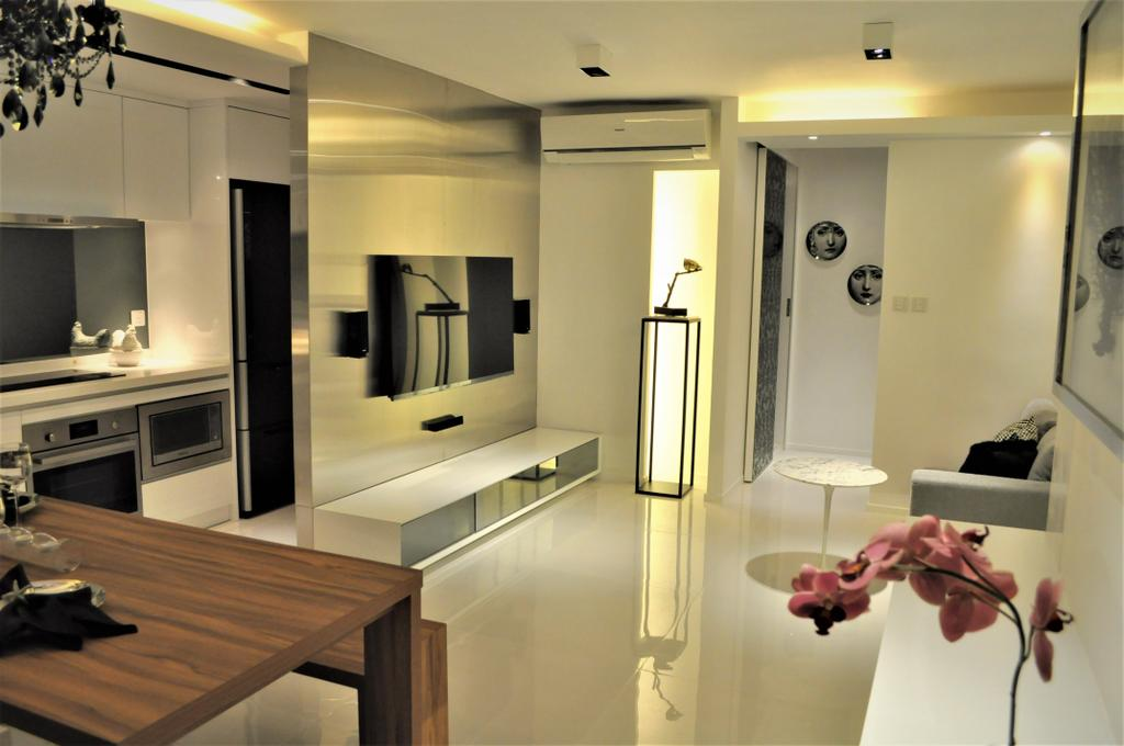 摩登, 私家樓, 客廳, 金星閣, 室內設計師, Space Design, 工業, Indoors, Interior Design, Door, Sliding Door