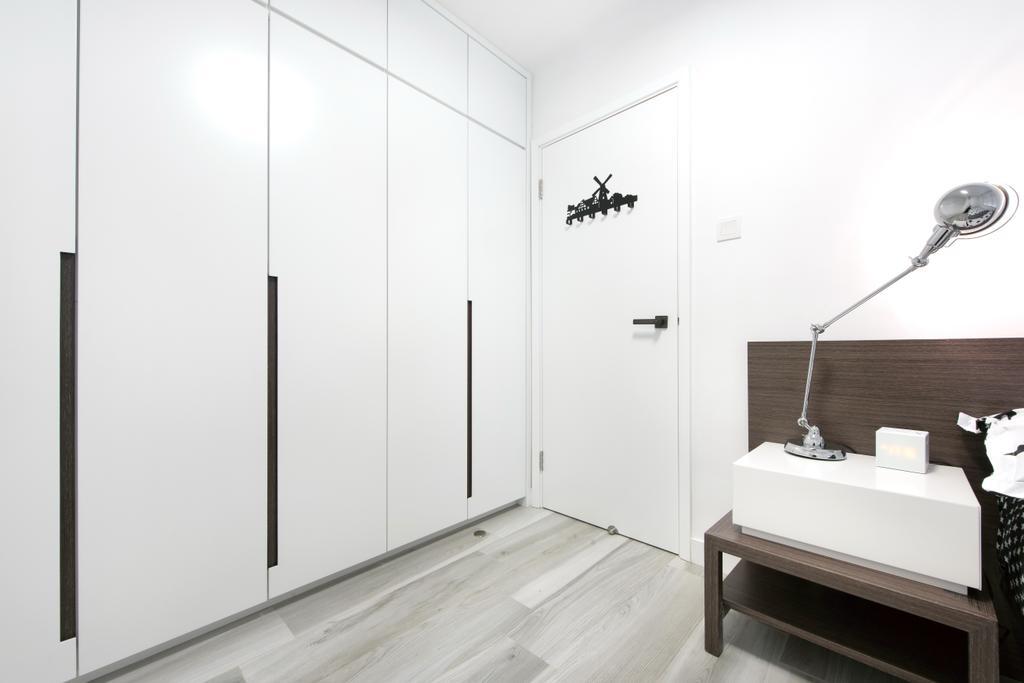 摩登, 私家樓, 睡房, 德福花園, 室內設計師, Space Design, 簡約, Sink, 浴室, Indoors, Interior Design, Room