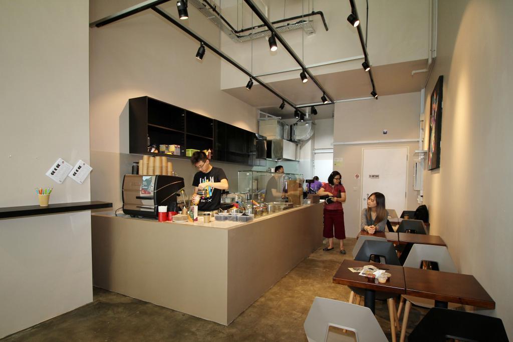 Robinson Road (Block 138), Commercial, Interior Designer, EightySeven Studio, Industrial