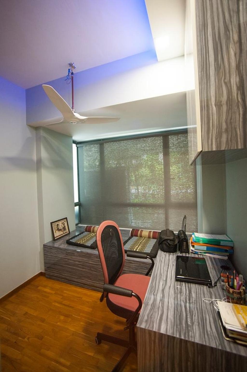 Contemporary, Condo, Study, Pasir Ris Grove (Block 123), Interior Designer, EightySeven Studio