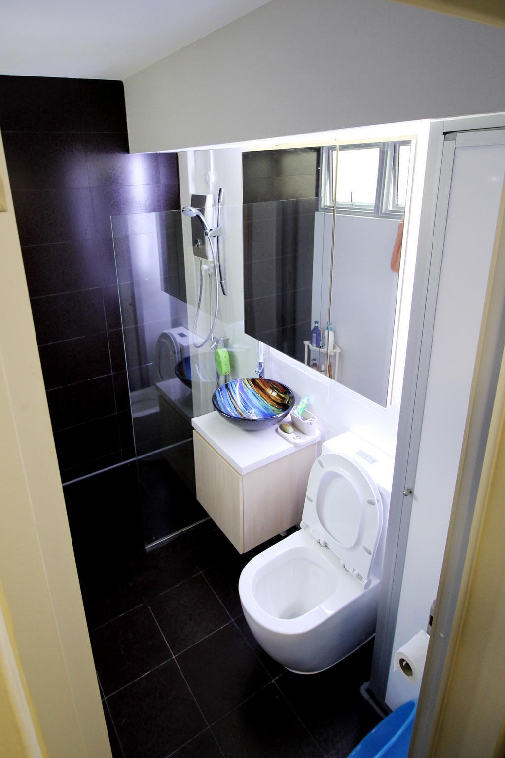Modern, HDB, Bathroom, Tampines (Block 843), Interior Designer, EightySeven Studio