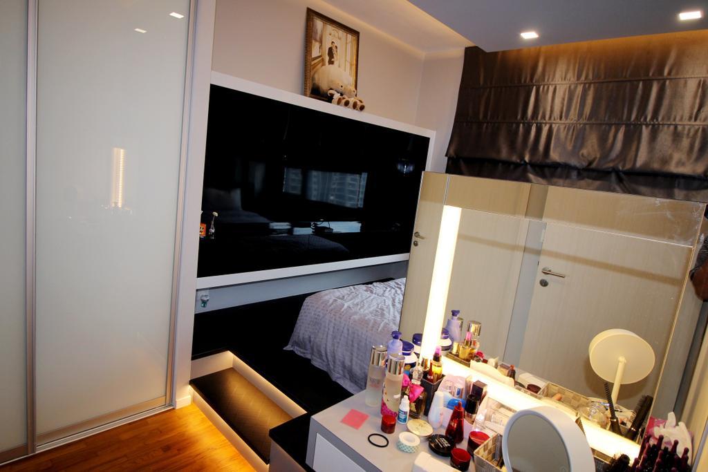 Modern, Condo, Bedroom, The Amore, Interior Designer, EightySeven Studio