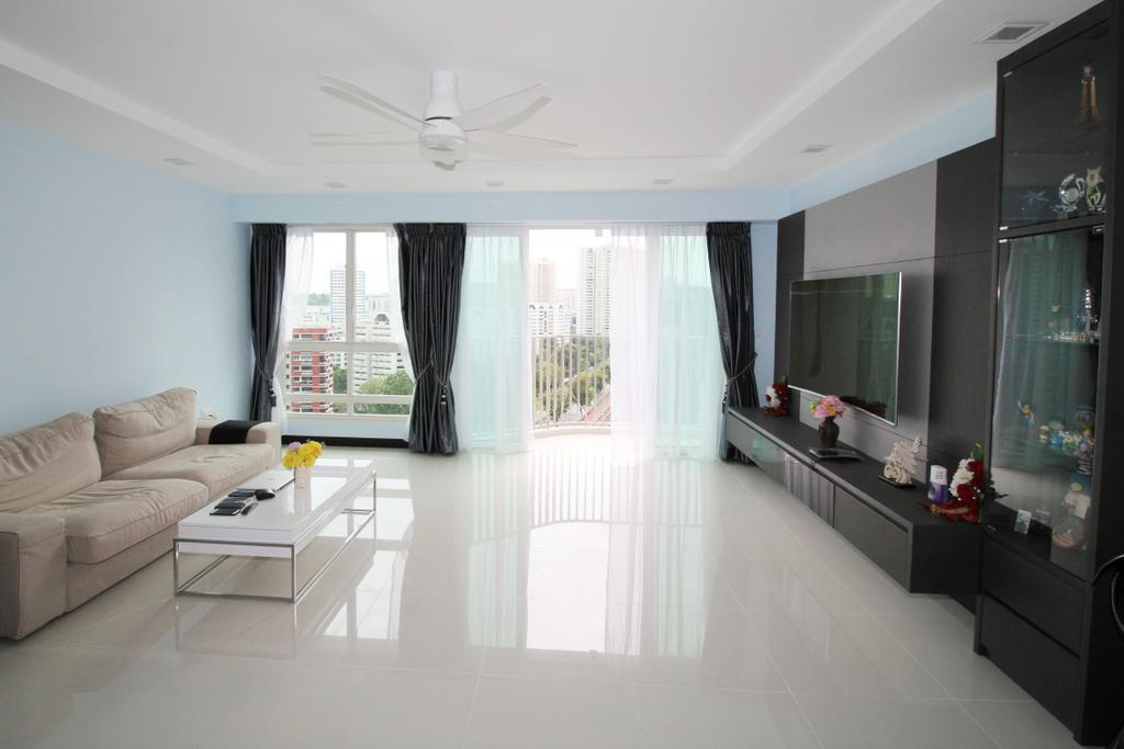Traditional, HDB, Living Room, Bukit Batok (Block 296A), Interior Designer, EightySeven Studio