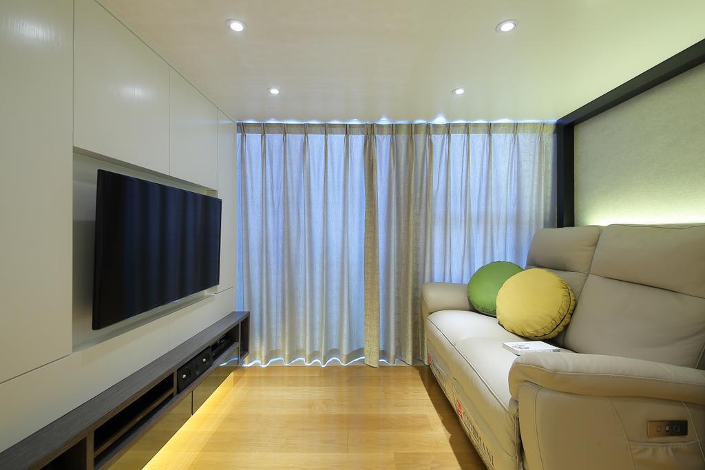 摩登, 私家樓, 客廳, 喜點, 室內設計師, Rome Design, Couch, Furniture, Indoors, Room, Interior Design, Chair