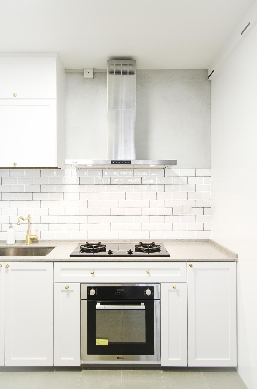 Modern, HDB, Kitchen, Tampines GreenForest, Interior Designer, Free Space Intent, Eclectic