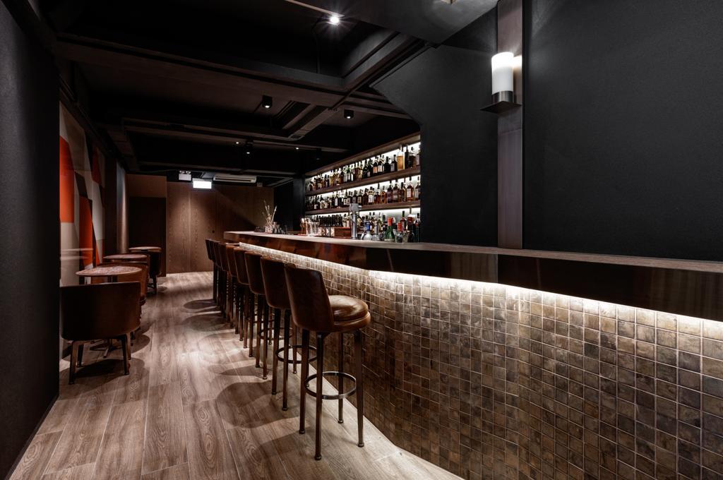 Malt Whisky Bar, 商用, 室內設計師, XLMS, 摩登, 傳統, 過渡時期, Brick