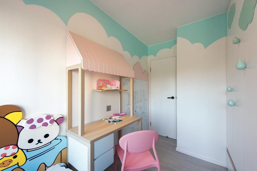 摩登, 公屋/居屋, 睡房, 東駿苑, 室內設計師, Space Design, 北歐, Chair, Furniture, Indoors, Room