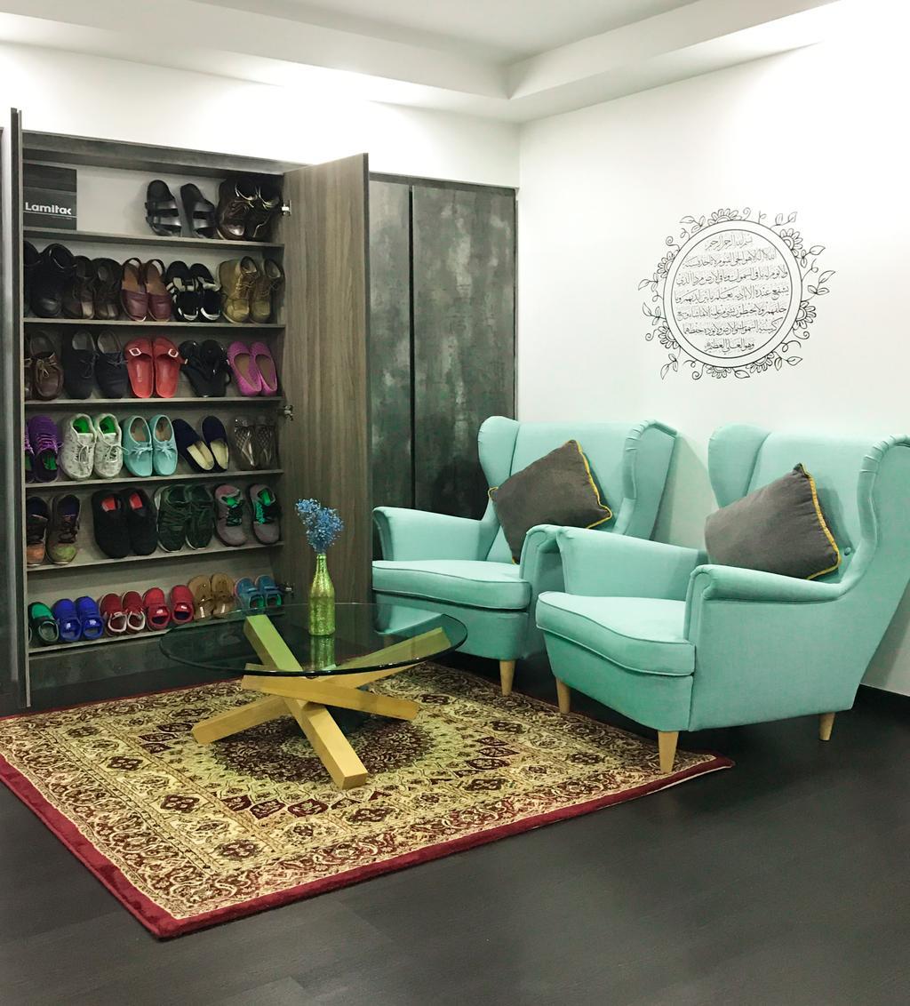 Modern, HDB, Living Room, Pasir Ris, Interior Designer, Flo Design, Chair, Furniture, Couch