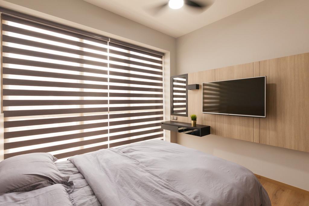 Minimalistic, Condo, The Vales, Interior Designer, Charlotte's Carpentry, Scandinavian, Bedroom, Indoors, Interior Design, Room, Bed, Furniture