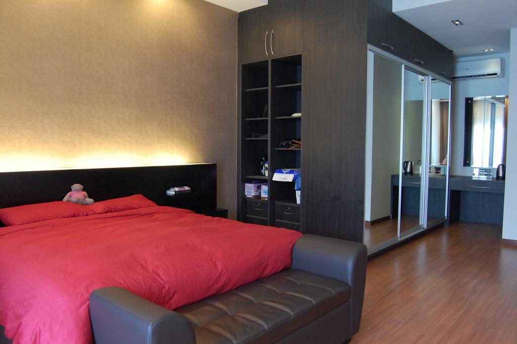 Transitional, Landed, Bedroom, Puchong, Interior Designer, Meridian Interior Design, Indoors, Interior Design, Room