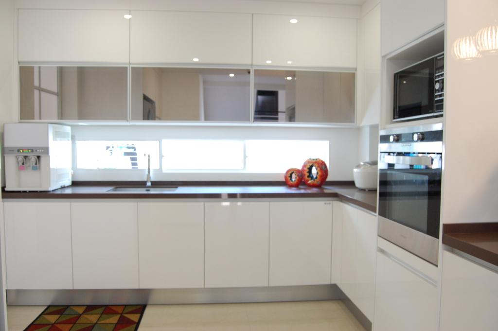 Transitional, Landed, Kitchen, Ara Damansara, Interior Designer, Meridian Interior Design, Appliance, Electrical Device, Microwave, Oven, Indoors, Interior Design, Room