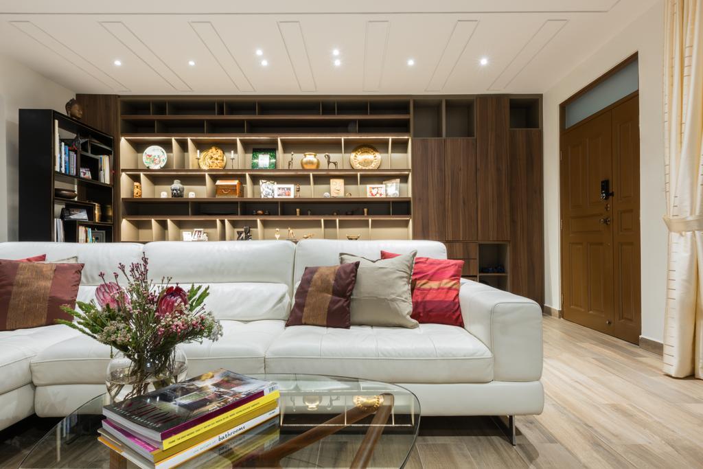 Modern, Landed, Living Room, Onan, Interior Designer, A.RK Interior Design, Couch, Furniture, Flora, Jar, Plant, Potted Plant, Pottery, Vase, Cushion, Home Decor, Indoors, Interior Design, Room
