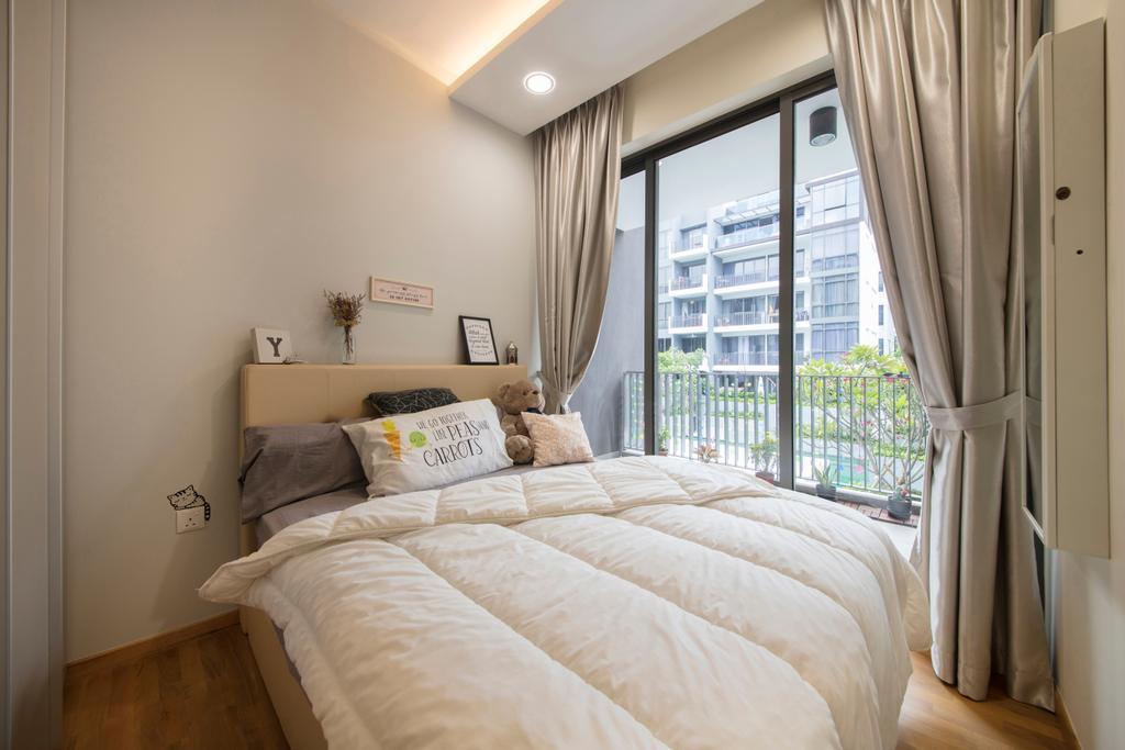Contemporary, Condo, Bedroom, Stratum, Interior Designer, Weiken.com, Indoors, Interior Design, Room, Bed, Furniture