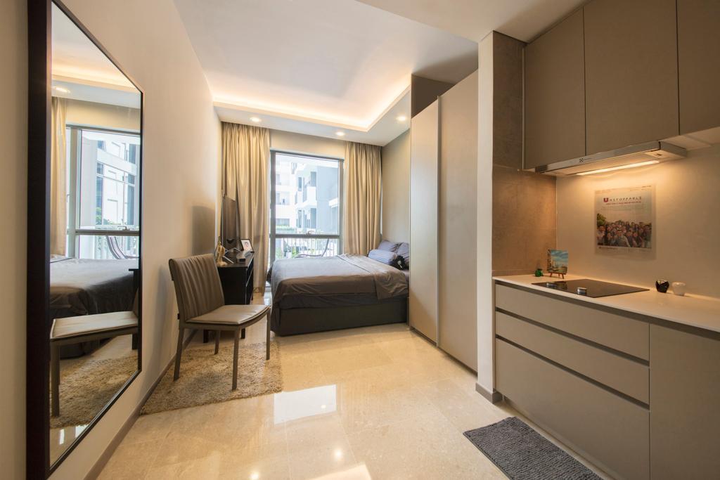 Contemporary, Condo, Bedroom, Stratum, Interior Designer, Weiken.com, Bathroom, Indoors, Interior Design, Room, Flooring