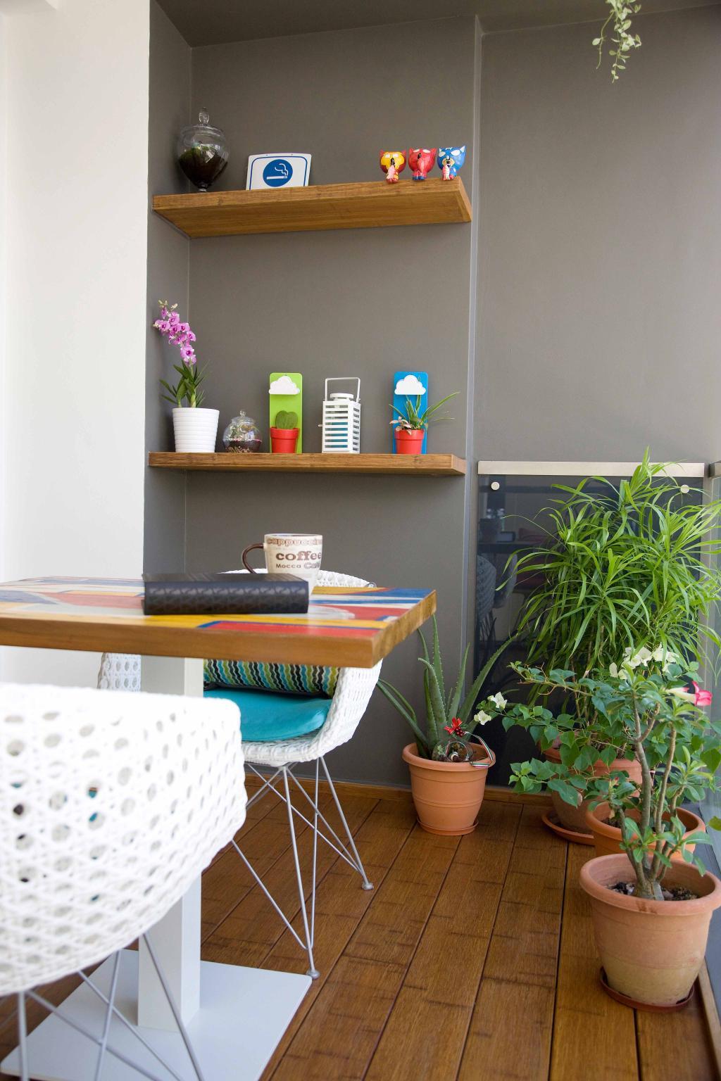 Modern, Condo, Balcony, Tampines Trilliant, Interior Designer, M3 Studio, Flora, Jar, Plant, Potted Plant, Pottery, Vase, Art, Blossom, Flower, Flower Arrangement, Ikebana, Ornament