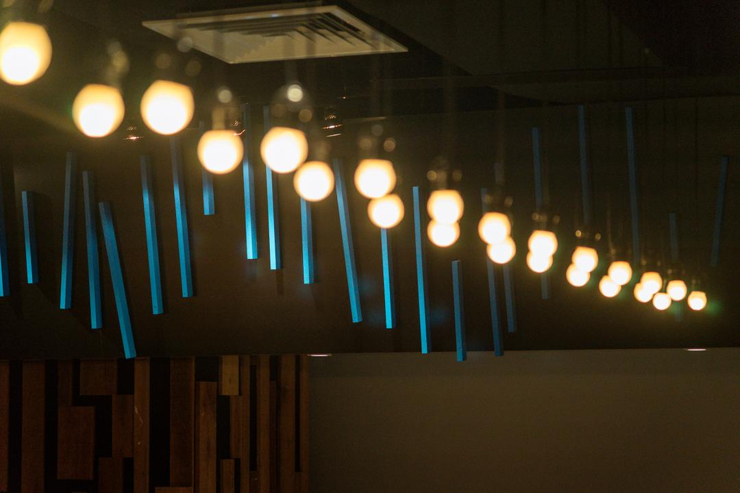 Food Court @ UNITAR, Think Studio, Contemporary, Commercial, Light Bulb, Light Bulb Pendant Lighting, Pendant Lighting, Light Fixture