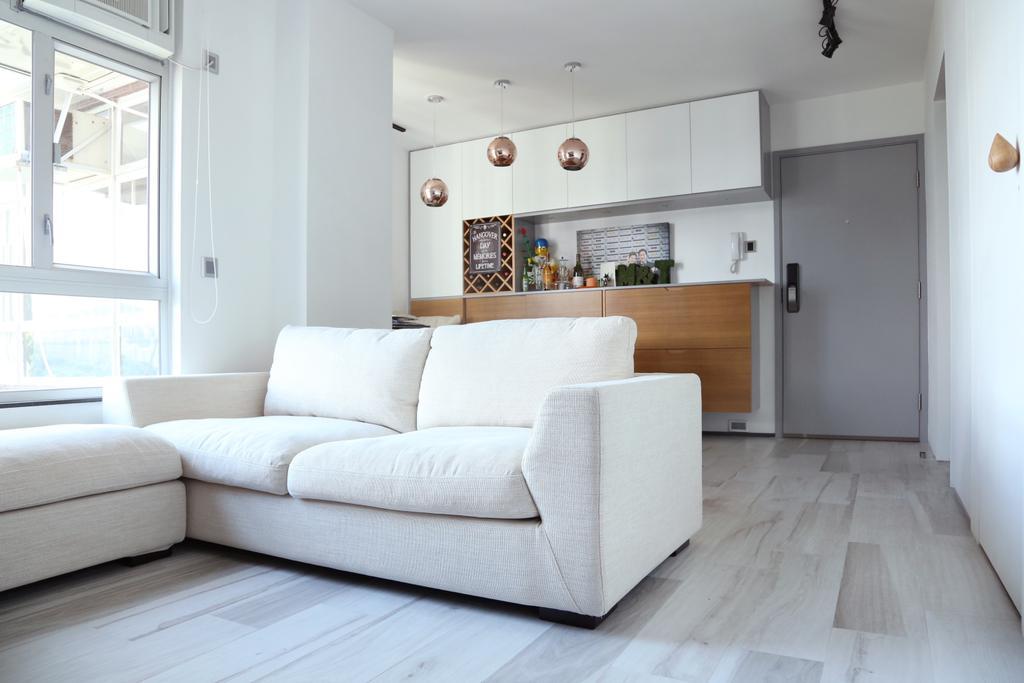 簡約, 私家樓, 客廳, 太古城, 室內設計師, KOO interior design, 北歐, Couch, Furniture, Indoors, Interior Design