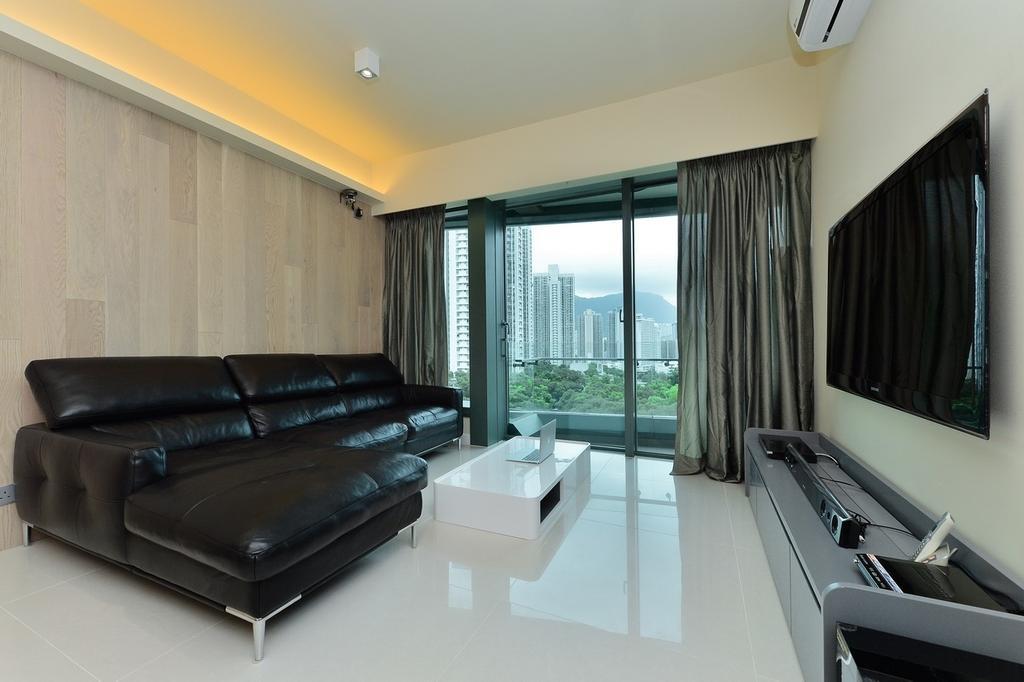摩登, 私家樓, 客廳, 尚御, 室內設計師, KOO interior design, Indoors, Room, Couch, Furniture