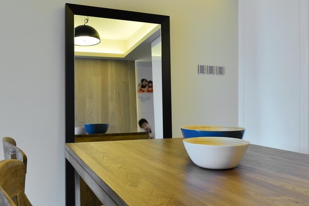 尚御, KOO interior design, 摩登, 飯廳, 私家樓, Light Fixture, Lighting, Cup, Plywood, Wood