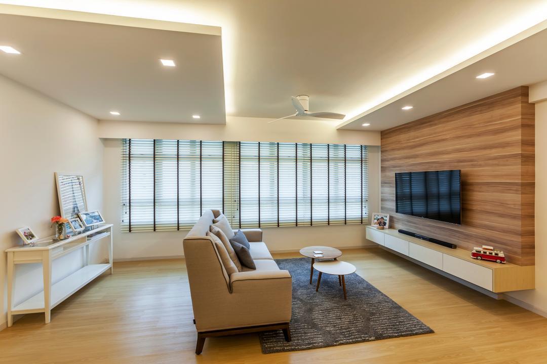 Anchorvale (Block 329) Living Room Interior Design 6